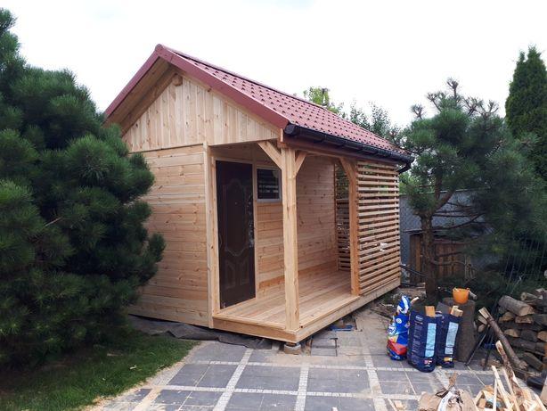 Nowy domek dzialkowy na gotowo ogrodowy narzędziowy altana