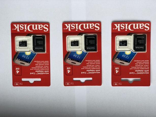 Karty pamięci scandisc 4gb