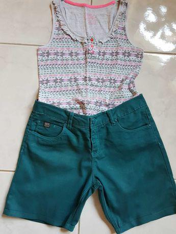 Denim Sublevel krótkie spodenki  spodnie bermudy szorty dżinsy koszula