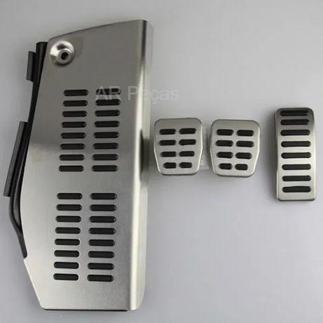 Kit 4 capas pedais Audi Vw golf seat Leon novo