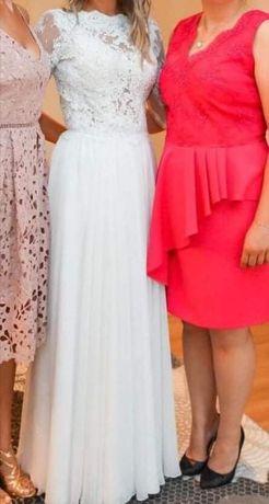 Suknia ślubna + welony
