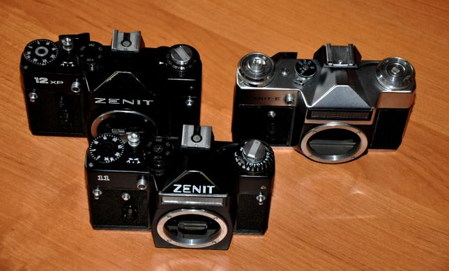 Zenit 12 XP, Zenit 11, Zenit E - Korpusy