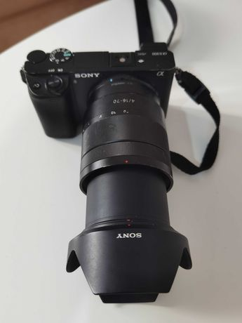 Sony a6300 plus obkietyw Vario-Tessar 16-70