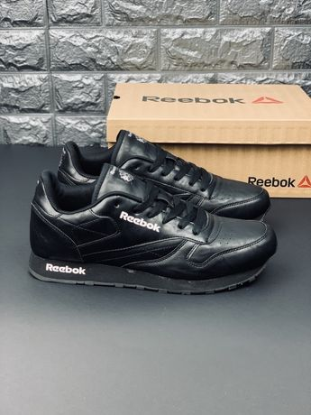 Кожаные кроссовки Reebok (р36-46) кросівки рібок reebok classic кросов