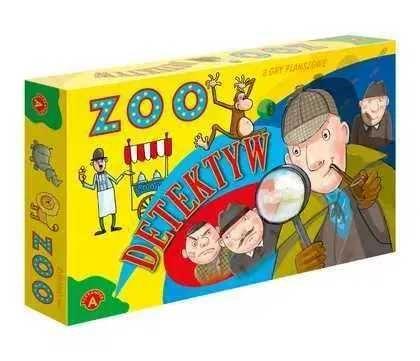2 gry planszowe Detektyw i Zoo