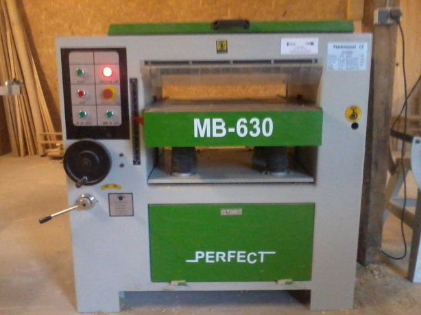 Grubościówka MB 630, heblarka