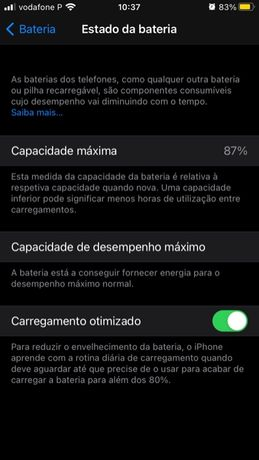 Vendo iphone 8 preto urgente