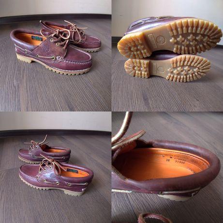 Туфли,мокасины, топсайдеры броги TIMBERLAND оригиналы натуральные полн
