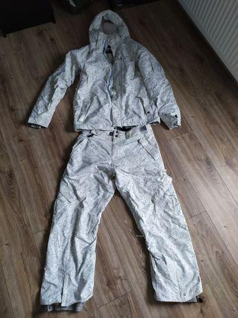 Komplet strój zestaw snowboardowy 686 M snowboard kurtka spodnie L