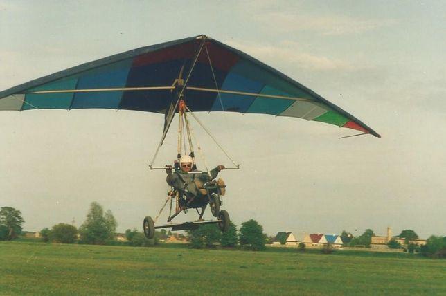 Motolotnia skrzydło + wózek