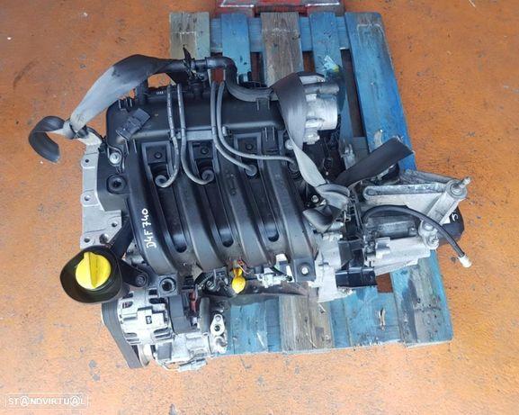 Motor Renault Clio III / IV / Modus 1.2 16v Ref. D4F740