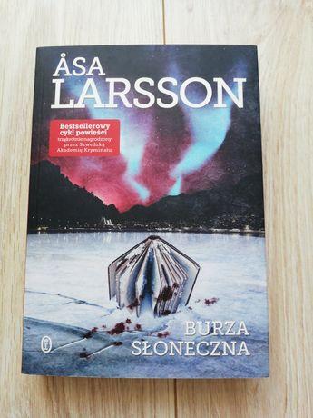 """Książka ,,Burza słoneczna"""" Asa Larsson"""