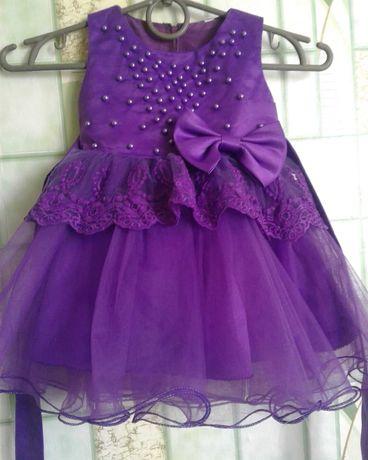 платье на годик)))