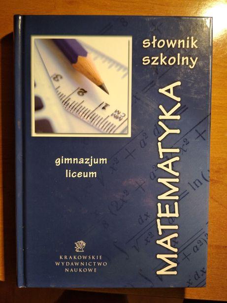 Matematyka - słownik