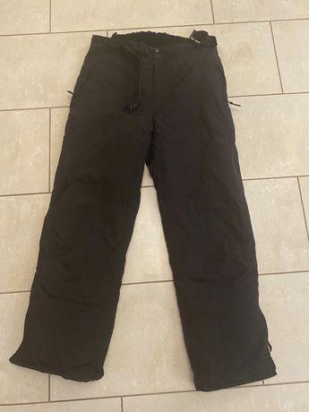 Man Man zimowe spodnie XL narty, snowboard/śnieg czarne
