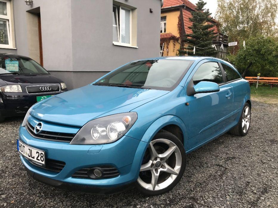 Opel Astra GTC 2005 r. 2.0 Turbo benzyna 170 KM Zadbana Klima Alusy Jelenia Góra - image 1