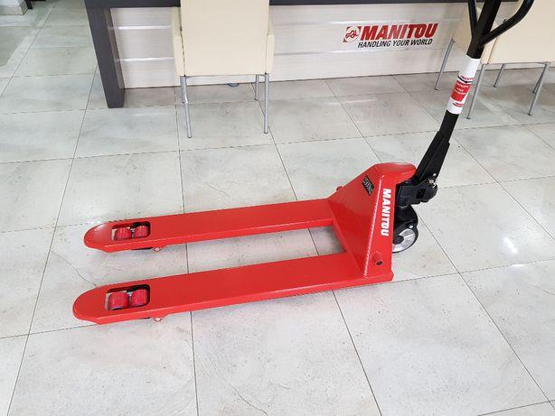 Paleciak Manitou, wózek do palet, wózek magazynowy (fabrycznie nowy)