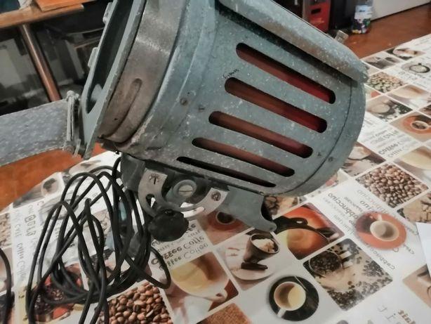 Projector de luz antigo cinema