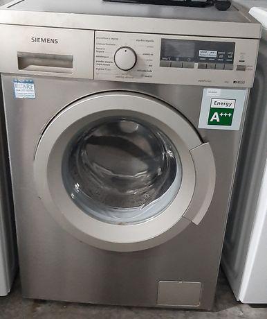 Máquina lavar roupa Siemens cinza 8kg