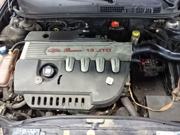 Silnik Alfa Romeo 147 Fiat Stilo 1,9jtd 1,9 jtd 115km
