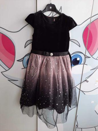 Sukienka dziewczynki 128