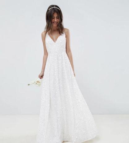 Nowa suknia ślubna ASOS