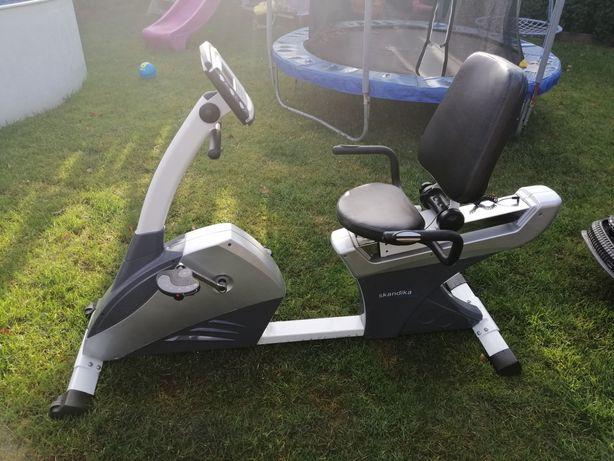 Rower treningowy poziomy skandika sf-1050, stan idealny