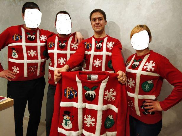 Аренда/прокат новогодних свитеров,образ мама/папа/ребенок/family look/
