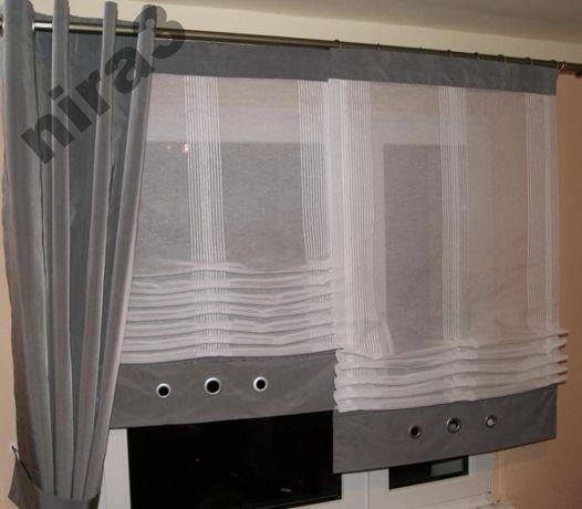 Panel firanka regulowana długość 81cm roleta