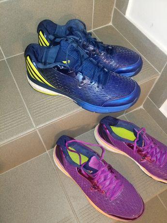 Buty adidas boost energy rozmiar 44 - 2 pary. Siatkówka, piłka ręczna