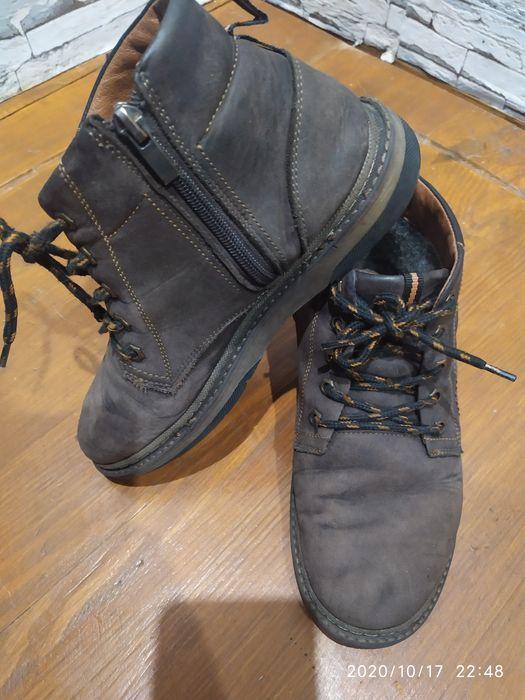 Кожаные ботинки Дебальцево - изображение 1