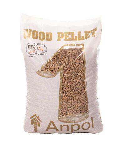 Pelet Pellet Anpol, Certyfikat EN+, A1 (jak Olczyk, Barlinek) Promocja