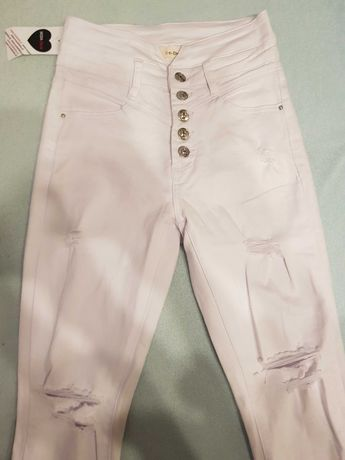 Nowe białe  jeansy 36