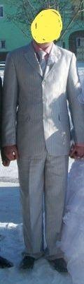 Срочно продам свадебный костюм