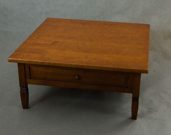 duży stolik kawowy 100x100 lite drewno klasyczny ArtStyl