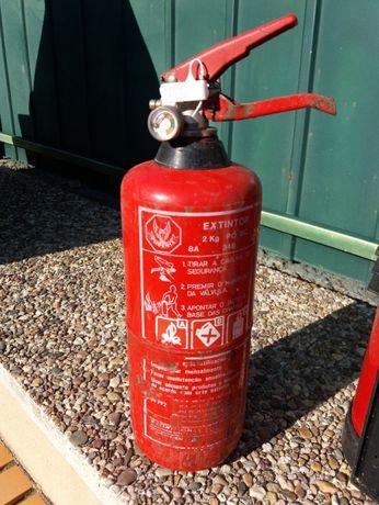Extintores de 2 Kg -PÓ ABC