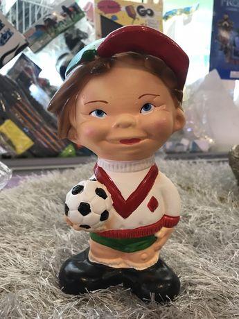 Vendo jogador de futebol mealheiro NOVO