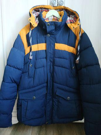 Куртка мужская синяя 50/52размер