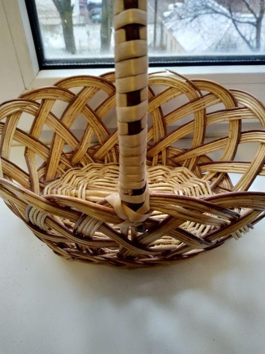 Корзиночка  из натуральной лозы Чернигов - изображение 1