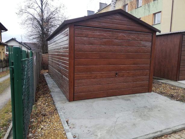 Garaż blaszany Blaszak 3x5 Pułtusk Budynek gospodarczy Producent Tani