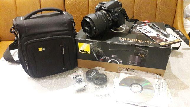 Nikon D3100, 18-105VR Kit