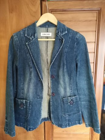 Katana, kurtka jeansowa