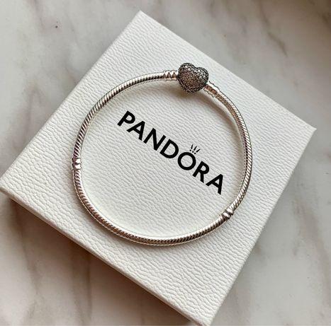 Bransoletka Pandora serce
