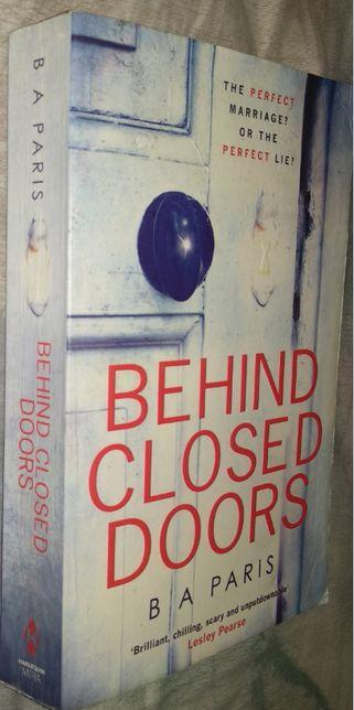 Книга английский Behind Closed Doors B A Paris За закрытыми дверями