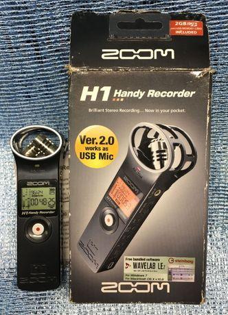 Диктофон стерео Zoom H1 Handy Recorder Ver.2.0 works as USB Mic