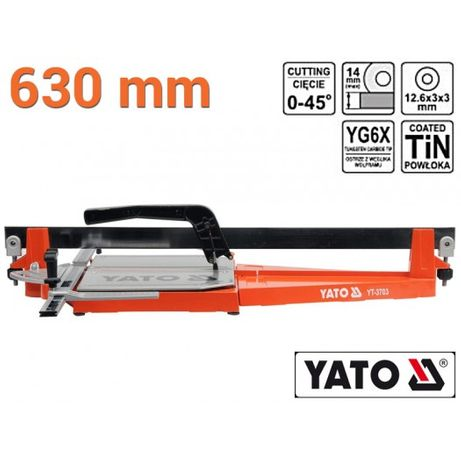 Плиткорез ручной L-630 мм YATO YT-3703 Польща! Оригинал!