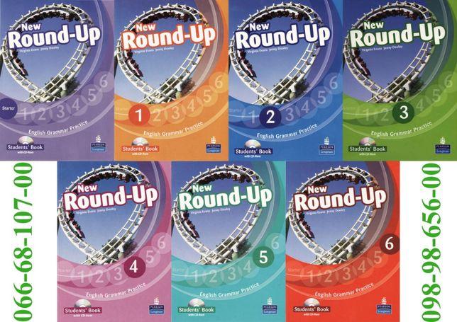 New Round Up Starter, 1, 2, 3, 4, 5, 6: ClassBook + CD