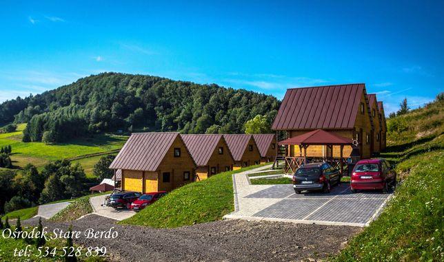 Domki Letniskowe - Noclegi - Solina - Bieszczady - Ośrodek Stare Berdo