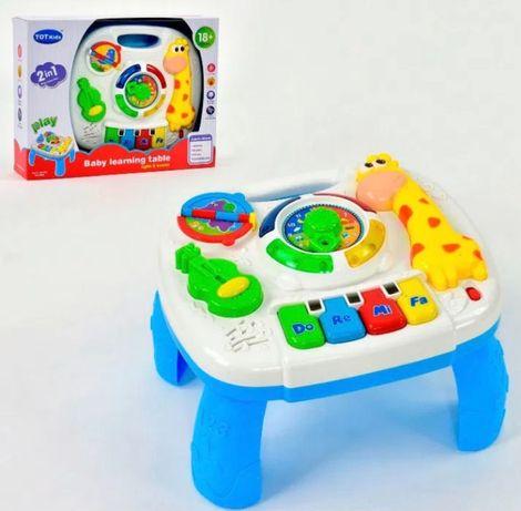 Музыкальный центр, пианино, Игровой столик,игровой центр,детский игров