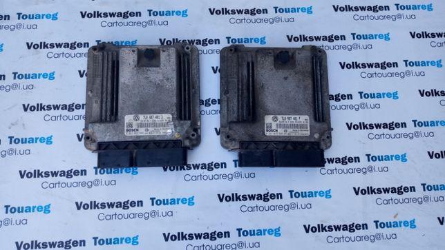 Блок управления двигателем Volkswagen Touareg 3.0 TDi 7L0907401B